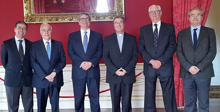 ACEGE Porto – Apresentação de cumprimentos ao Senhor Dom Manuel Linda, novo Bispo do Porto.
