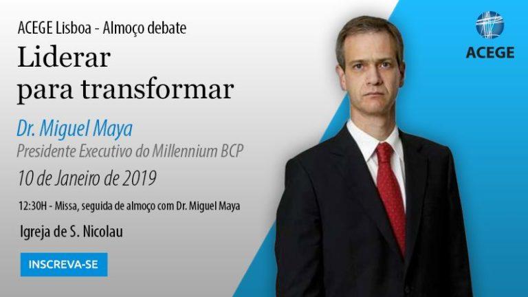 ACEGE Lisboa – Almoço debate