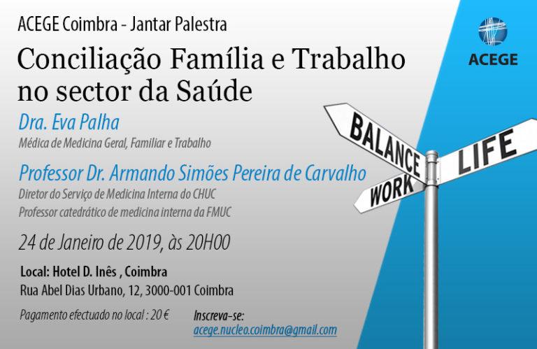 ACEGE Coimbra – Jantar Palestra