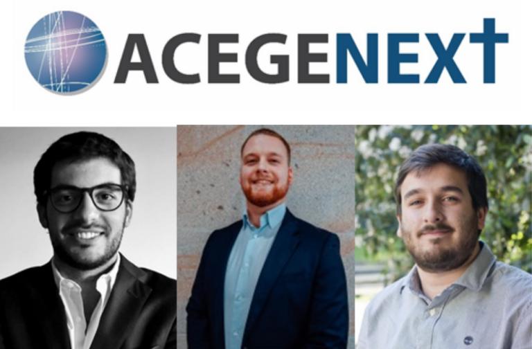 Quem são os representantes da ACEGE Next nos vários núcleos?